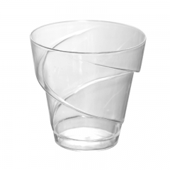 CH-60 Spiral Plastic cups for ice cream/pudding/desserts