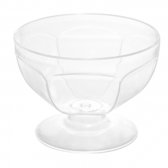 3oz clear plastic partyware,dessert cup with spoons,disposible party items