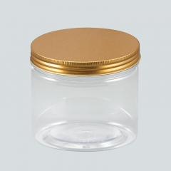 300ml plastic jar with lid,food grade PET JAR,plastic container for foods take away