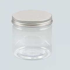 400ml plastic jar with lid,food grade PET bottles,plastic container for foods take away