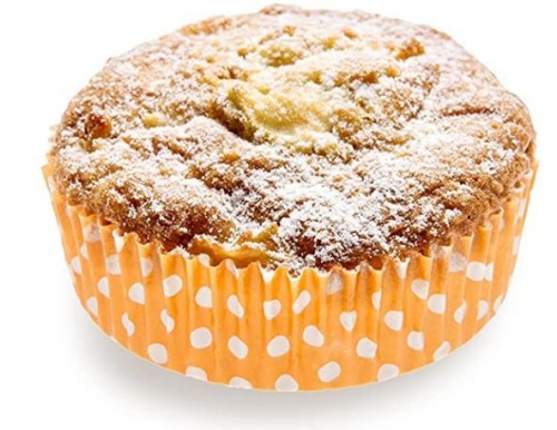 4 Ounce Baking Cups Regular-Ridged Round Paper Baking Cups Perfect for Muffins, Cupcakes or Mini Snacks