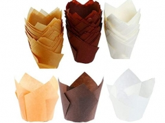 Tulip Baking Paper Cups, Cupcake Wrappers Muffin Liners , Baking Cups Muffin Cups